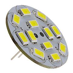 6W G4 Faretti LED 12 SMD 5730 570 lm Bianco DC 12 V