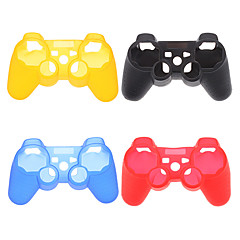 Suojaava silikoni Case for PS3 Controller (Assorted Color)