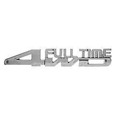 Enfriar a tiempo completo 4WD Patrón Metal Stickers Personalizados Coche decorativas