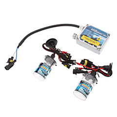 12V 35W H13H Xenon High Beam/Halogen Low Beam HID Lamp Conversion Kit Set (AC 12V Thick Ballast)