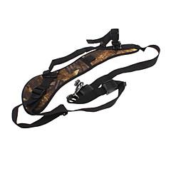 Quick Strap Correa para el hombro para SLR / DSLR Cameras (Amarillo Textura de bambú)