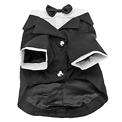 Gentlemen Formal Suit with Little Bow Tie for Dogs (XS-XXL)