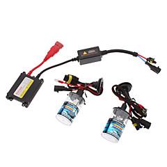 12V 35W H4-1 HID Xenon Lamp Conversion Kit Set (AC 12V Slim Ballast)
