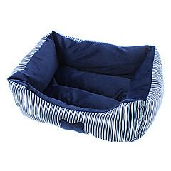 confortevole striscia osso modello da letto in cotone per cani e gatti