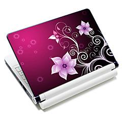 """Petunia Flowers"" Pattern Laptop Notebook Cover schützende Haut Aufkleber für 10 ""/ 15"" Laptop 18614"