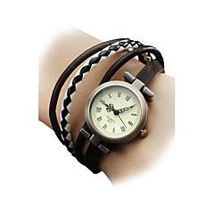 Women's Fashional Style PU Quartz Analog Bracelet Watch (Assorted Colors) Cool Watches Unique Watches