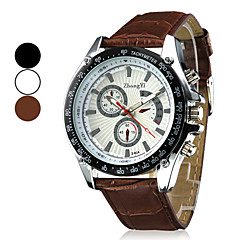 Men's Watch Luxury Dress Watch Stereoscopic Dial with Unique Pointers Wrist Watch Cool Watch Unique Watch Fashion Watch