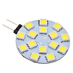 2W G4 LED-lampor med G-sockel 15 SMD 5050 150 lm Naturlig vit AC 12 V