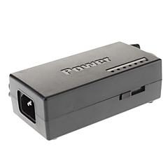 96W Universal Notebook Power Adapter med 8 separata kontakter (EU, Svart)