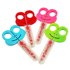 Kid's Plastic Frog Pattern Scissors(Random Colors)