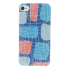 Maze Pattern Hard Case for iPhone 4/4S