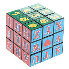 3x3x3 Cube magique avec lettres et chiffres