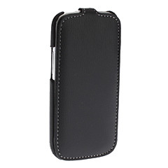 PU Leather Case Full Body solide de couleur pour Samsung Galaxy S3 I9300