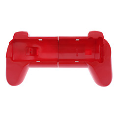Handle Grip for Wii/Wii U Remote Controller (Red)