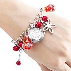 לנשים שעוני אופנה שעון צמיד Japanese קווארץ סגסוגת להקה צבעוני