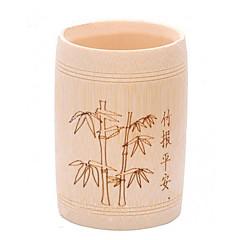 Stylish Bamboo Pattern Pen Holder