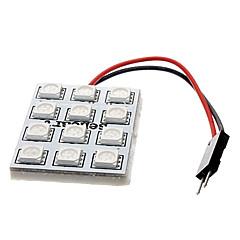 2.5W 12x5050SMD 120-150LM Blue Light LED for Car