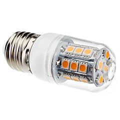3W E26/E27 LED Corn Lights T 27 SMD 5050 200 lm Warm White AC 220-240 V