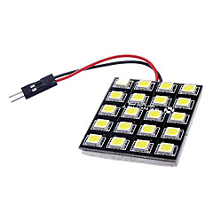 T10 BA9S Festoon G4 10W 20x5050SMD 700-800LM 6000-6500K LED White Steering/Reading Lamp (DC 12V)