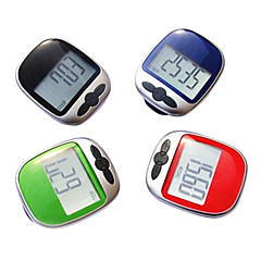 Stor skjerm Jogging Step Pedometer Walking Calorie Avstand Counter