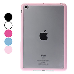 Transparent Frosted TPU Hard Case for iPad mini 3, iPad mini 2, iPad mini (Assorted Colors)