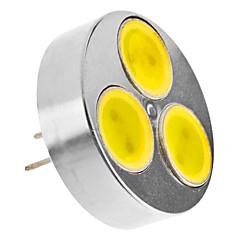 G4 4W 330-370LM 6000-6500K Natural White Light LED Spot Bulb (12V)