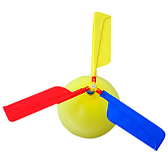 Helicopter Air Balloon Assembly Toy(Random Color)