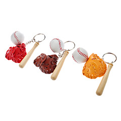 Baseball Set Styl Keychain (Random Color)