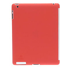 Solid Color Leather Oil Texture Matt Finish PC Hard Case for iPad 2/3/4 (Optional Colors)