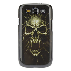 Horrific Skull Pattern Hard Case with HD Screen Protector and Stylus for Samsung Galaxy S3 I9300