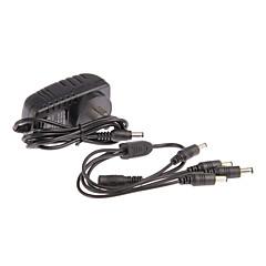AC 100-240 V DC 12V 2a napájecí kabel CCTV kamery napájecí adaptér 1 až 4 pro kameru