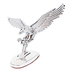 Universal Alloy 3D Flying Eagle Vara Emblem para carros