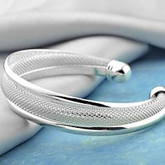 Dame Manchetarmbånd Mode Sølv Smykker Skærmfarve Smykker For Fest 1 Stk.