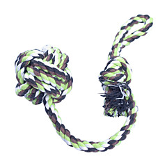 Large and Small Knots Chewing Rope Toy for Pets Dogs (Random Color)