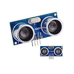 Ultrasonic Sensor HC-SR04 Afstand OpmålingsModul - Blå + sølv