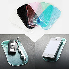 Car Mini Antislip Pad Mat Transparent Particles Pattern