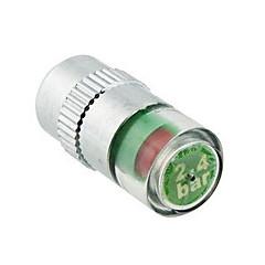 4pcs/set Car Tire Pressure Monitor de vástago de válvula Cap Sensor Indicador de alerta Eye
