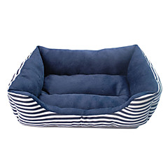 уютной и теплой полосы узор диван-кровать стиль для домашних животных собак (разных цветов)