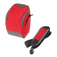 B-01-RD Red Crossbody One-Shoulder camera bag for DSLR camera