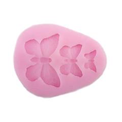 Moule de Cuisson Papillon Pour Gâteau Pour Cookie Pour Tarte Silikon Bricolage Ecologique 3D