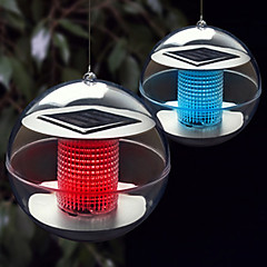 Solar Power Changing Color LED Floating Light Ball Lake Pond Pool Lamp