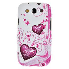 Gel de silicone de flor TPU Soft Case Capa pPara Samsung I9300 Galaxy S3