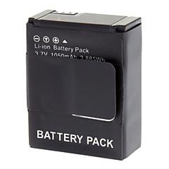 Bateri Li-ion AHBDT-201 3.7V 1600mAh untuk GoPro Hero 3 - Kelabu Kehitaman