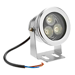 3W 210-240LM 3000K θερμό λευκό φως LED Lamp πλημμυρών (12V)