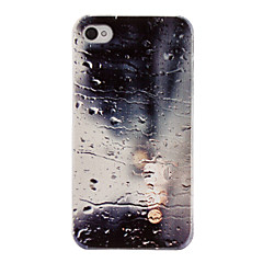 Unique Relievo Series Water Design Pc Hard Back Case Cover for iPhone 4/4S