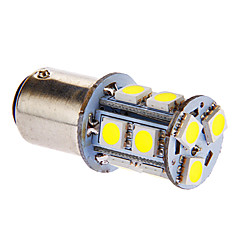 BAY15D/1157 3W 13x5050SMD 117LM 6000-7000K Cool White Light LED-lampa för bil (DC 12V)