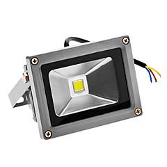 10W 720-800lm 6000-6500K meleg fehér fény LED érzékelő Flood fény (100-240V)