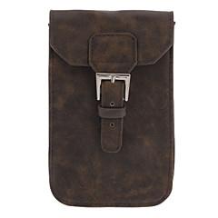 Cattlehide Feeling Suojaava PU Leather laukut laukku avaimenperä Samsung Galaxy Note2 N7100