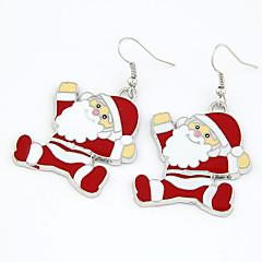 Christmas Gift Santa Claus Drop Earrings