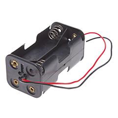 4PCS AA 셀 배터리 (검정)를위한 소형 배터리 충전기